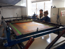 Printing with Alexis Grasset.